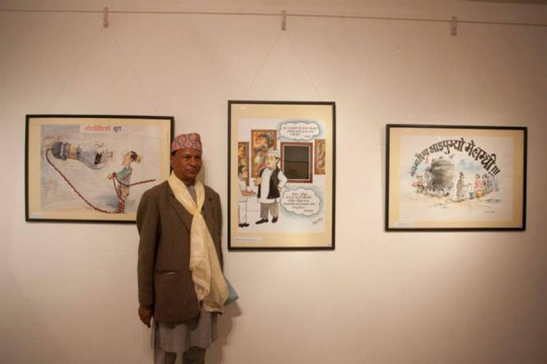 An Exhibition of Cartoons At KCAC