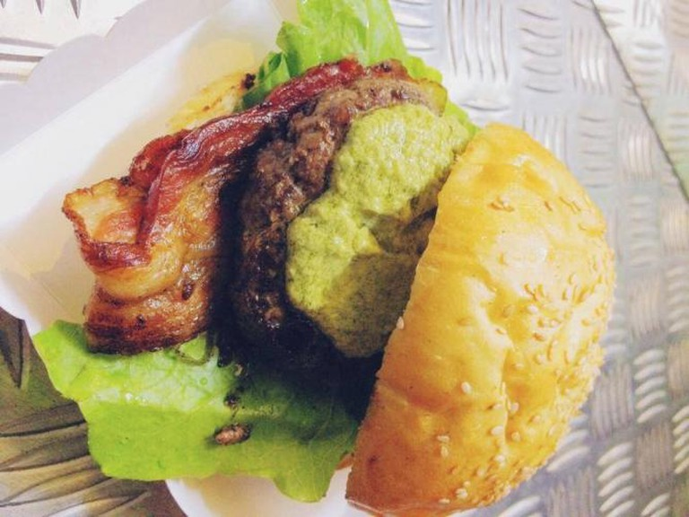 Burger from Orn the Road