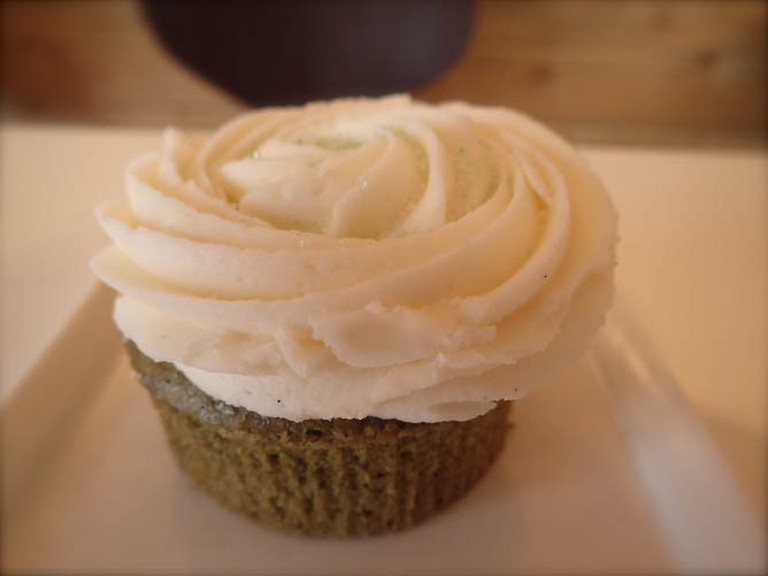 Spirulina Cupcake