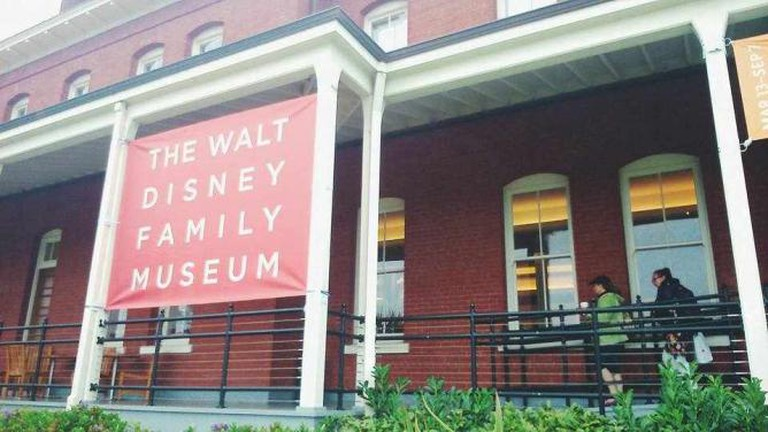 The Walt Disney Family Museum in the Presidio