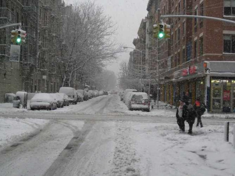 Snow on the Lower East Side