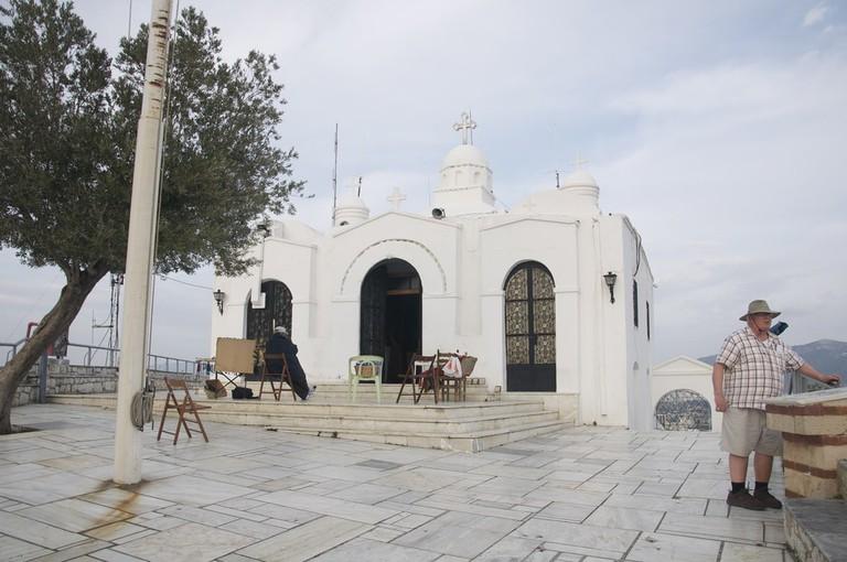 Agios Georgios church in Lycabettus Hill