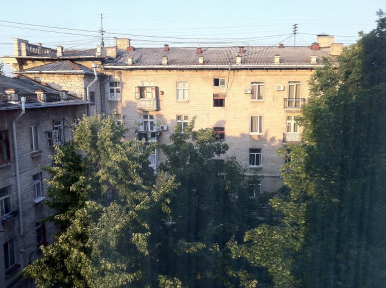 View from Nobil Luxury Boutique Hotel, Chisinau
