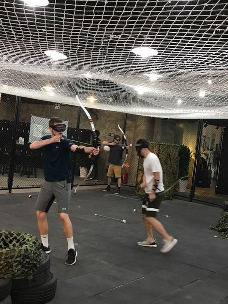 Archery tag, Beijing