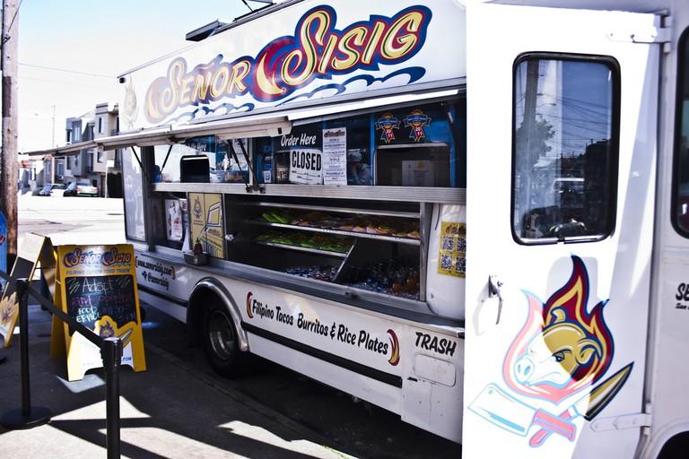 The Señor Sisig food truck