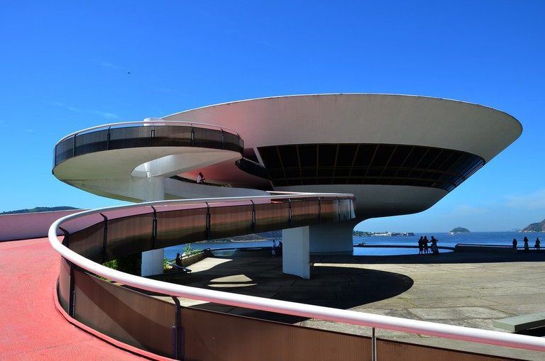 Niteroi Contemporary Art Museum in Niteroi