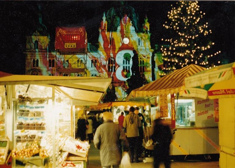 A Graz Christmas market