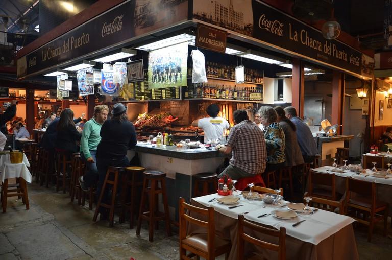 Mercado del Puerto, food market, Montevideo, Uruguay, parrilla Uruguay