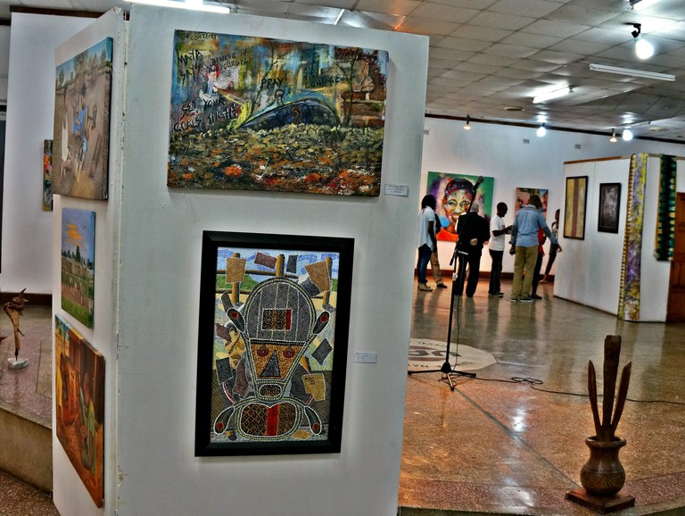 Henry Tayali Gallery in Lusaka is named after one of Zambia's most well known visual artists.