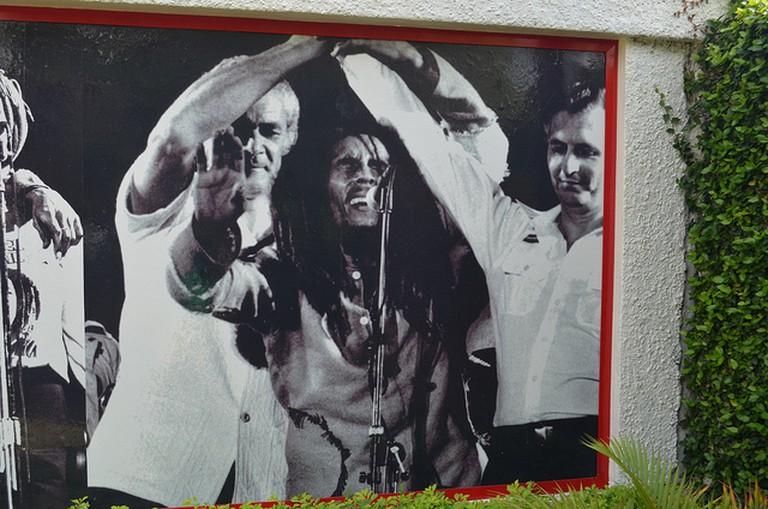 The Bob Marley museum, Kingston