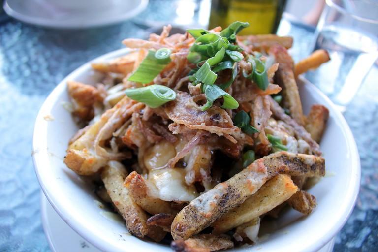Chips and Gravy. Yum!