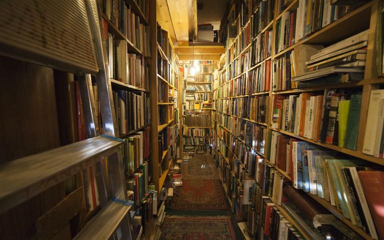 Armchair Books In Edinburgh is a maze of literary gems