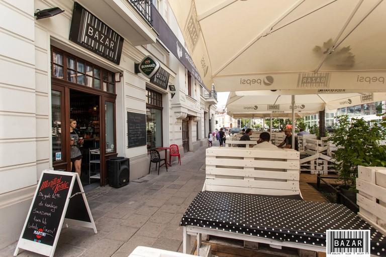 The 24 hour Bazar Klub in Praga | © Bazar
