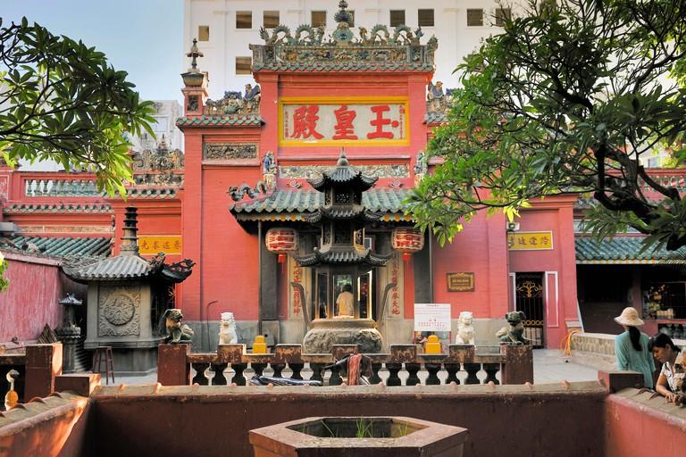 Jade Emperor Pagoda, Ho Chi Minh City, Saigon, Vietnam, Southeast Asia