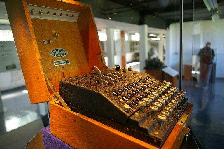 The Enigma Machine at Bletchley Park