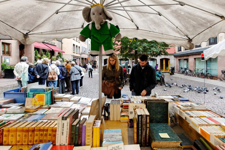 The 'bouquinistes' of Strasbourg