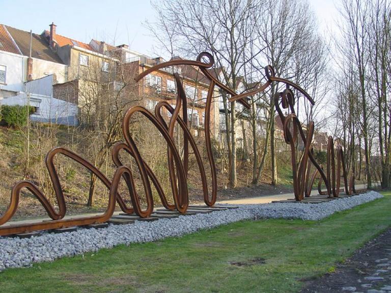 Daniel Steenhaut's sculpture