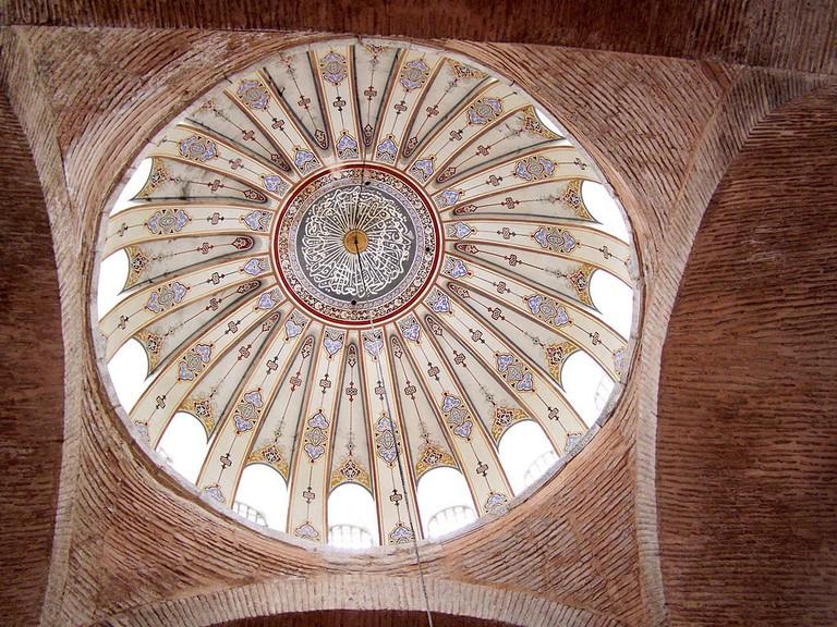 Central_dome_interior_of_Kalenderhane_Mosque
