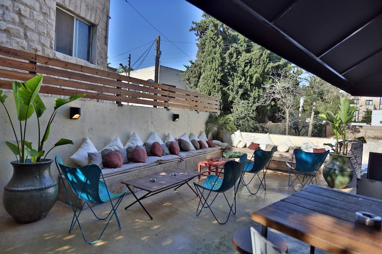 Copas Central outdoor patio