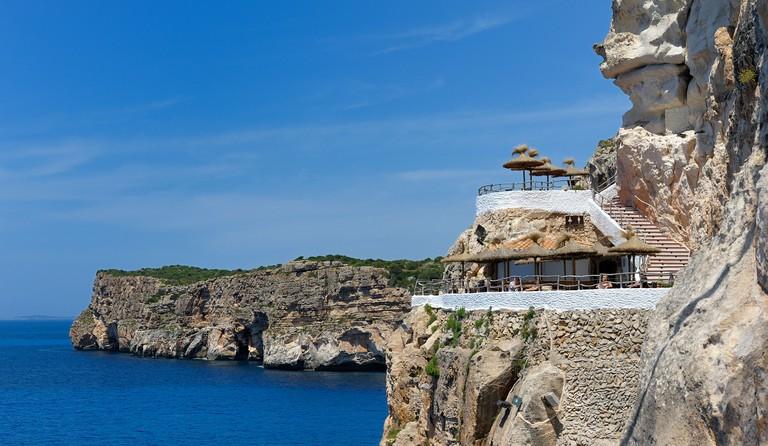 Cova d'en Xoroi menorca balearic islands spain