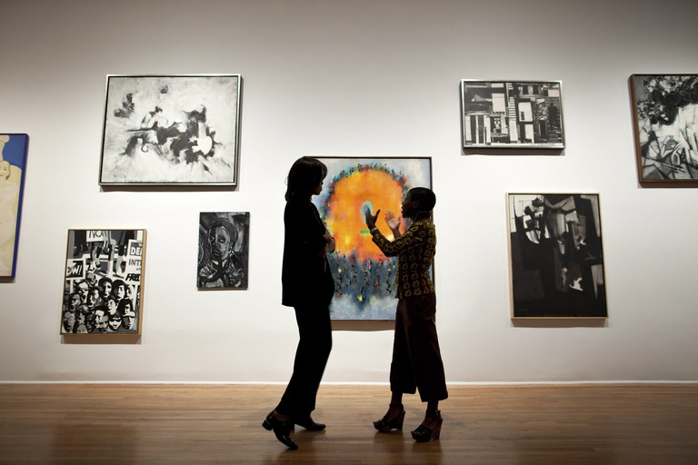 The Studio Museum in Harlem is dedicated to African American artists