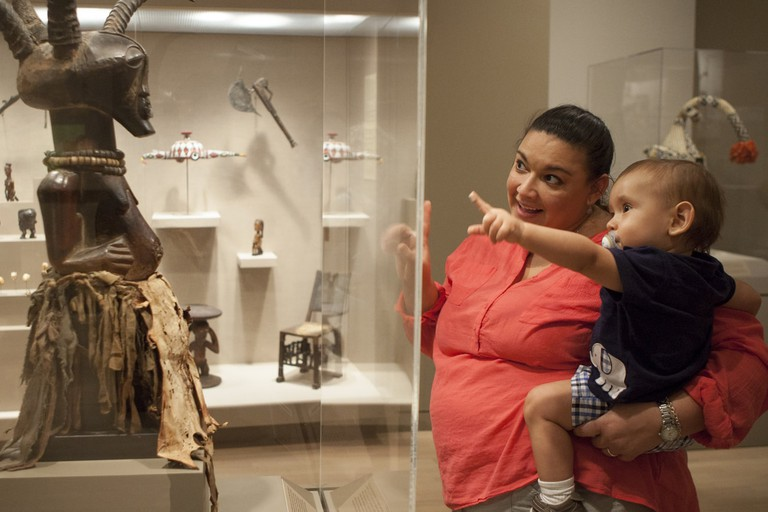 The Dallas Museum of Art offers exhibits for people of all ages