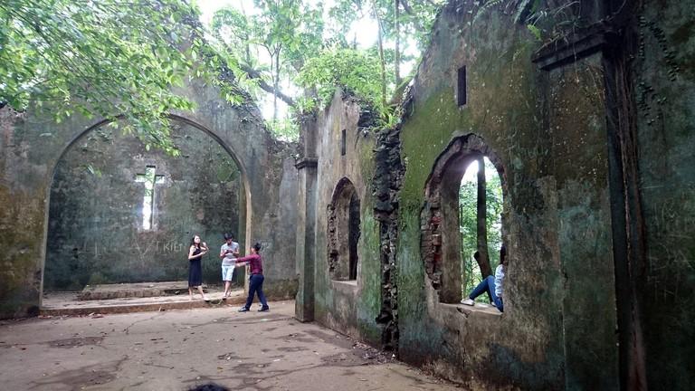 Church ruins | © Piumi Rajapaksha