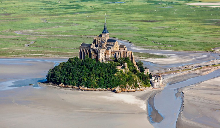 Mont Saint Michel, listed as World Heritage by UNESCO