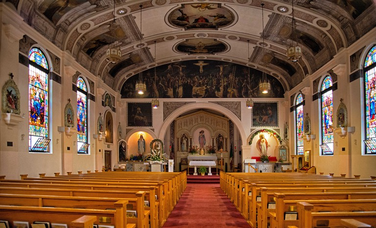 Our Lady of the Rosary Church, Little Italy, San Diego.