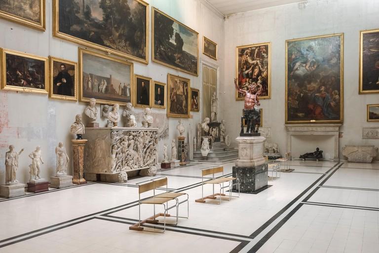 The Aldobrandini Room in the Galleria Doria Pamphilj