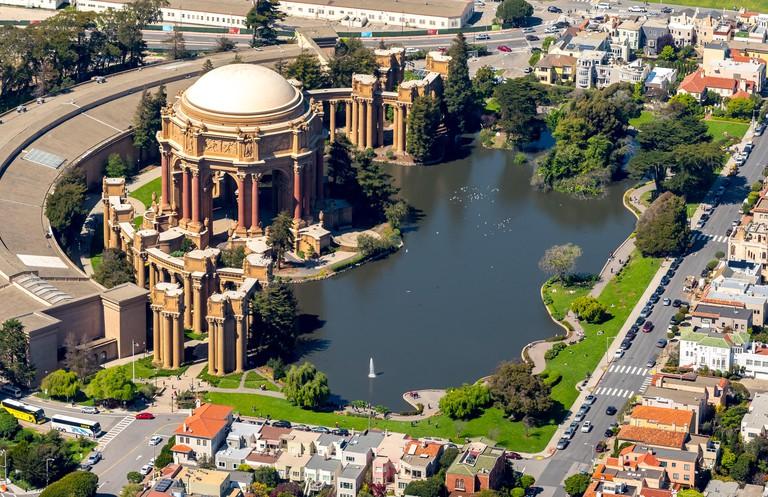 Palace of Fine Arts, Presidio, Theater, San Francisco, San Francisco Bay Area, United States of America, California
