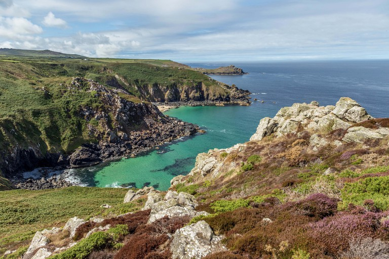 View from Zennor Head, Cornwall