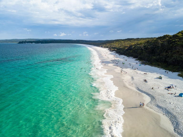 Hyams beach in New South Wales, Australia