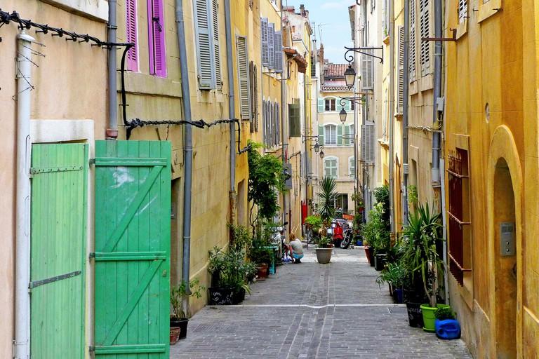 Le Panier, Marseille, France