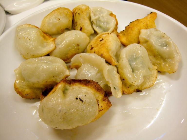 Great Pan Fried Dumplings   © Charles Haynes/ Flickr