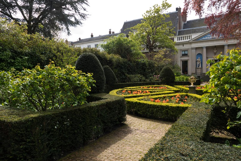 The garden at the Van Loon Museum