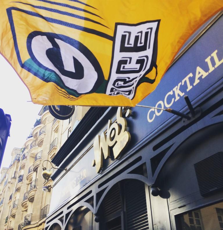 WOS Bar in Paris, France   © Courtesy of WOS Bar