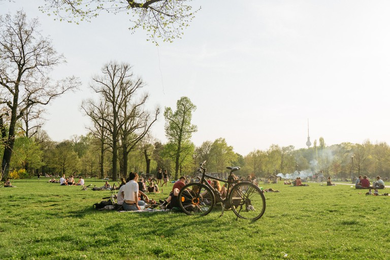 Volkspark Friedrichshain offers a peaceful respite from the busier areas of Berlin
