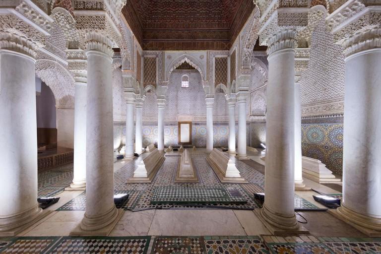 The Saadian Tombs, Marrakech.