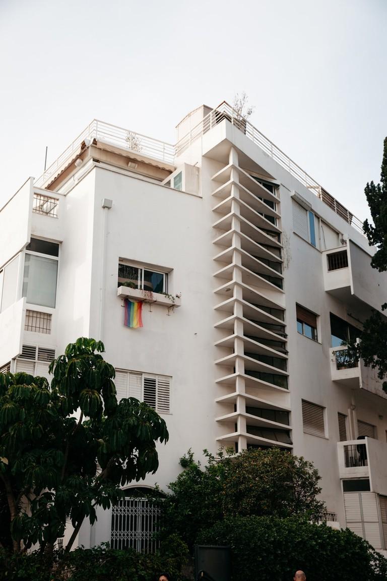 KCTP00019-THERMOMETER HOUSE -BAUHAUS-ARCHITECTURE-DIZENGOFF-TEL