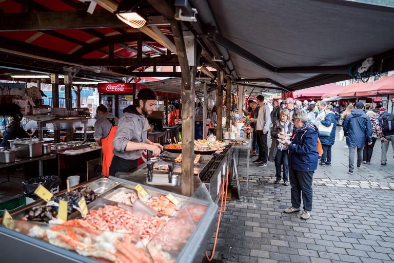 The Bergen Fish Market