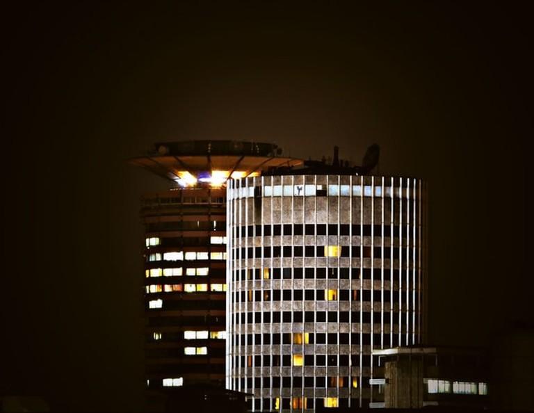 KICC at night