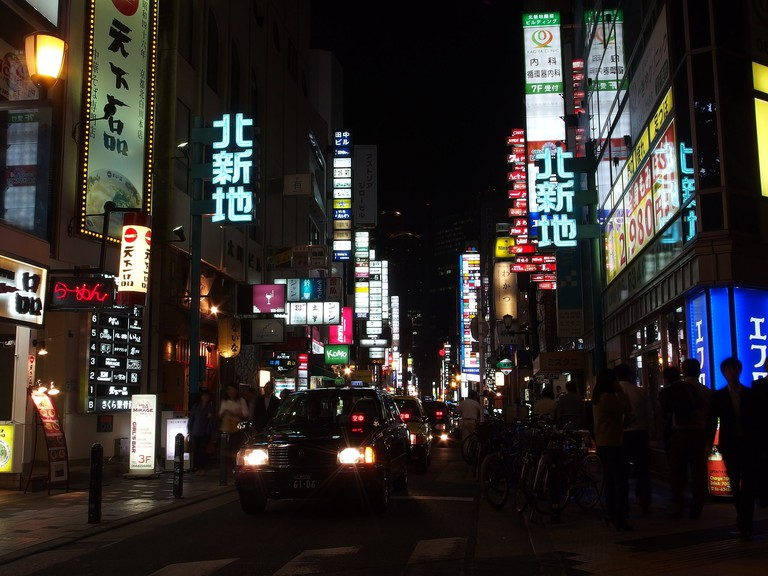 Kita-Shinchi_at_Night_osaka