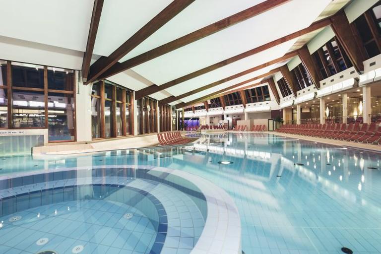 Indoor area of the luxury spa