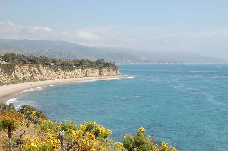 little-dume-beach-California-Malibu