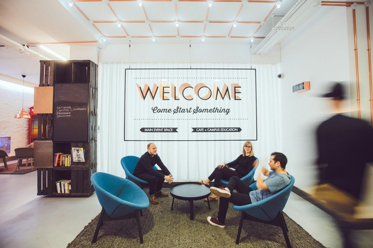 Campus London is Google's free space for the city's start-up community