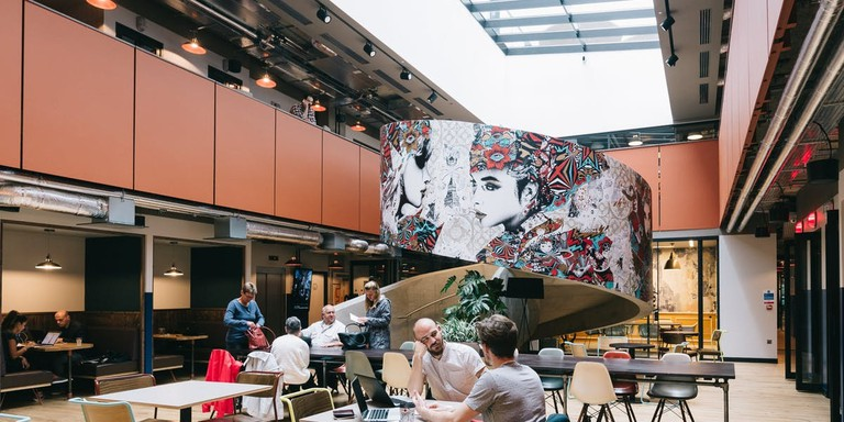 Old Street's WeWork office space is home to both entrepreneurs and established businesses