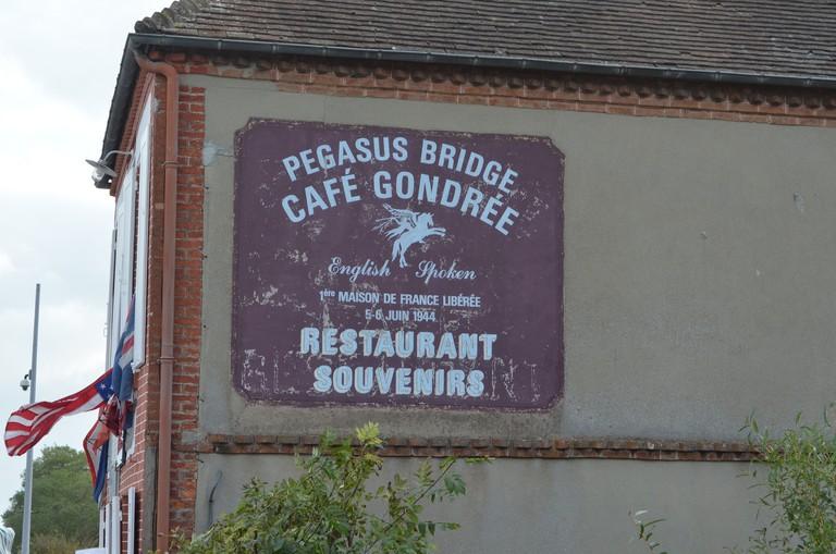 pegasus bridge cafe gondree