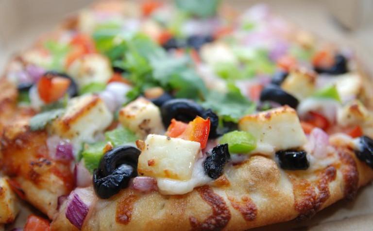 Pepper Paneer Pizza