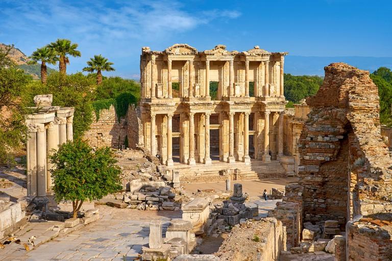 Library of Celsus, Ephesus Ancient City, Izmir, Turkey